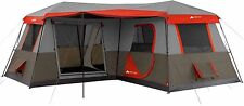 Ozark Trail 12 Person 3 Room L-Shaped Instant Cabin Tent NEW