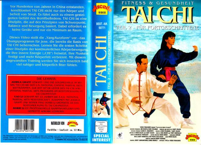 """VHS - """" Tai CHI - Teil 2 - Für Fortgeschrittene - Fitness & Gesundheit """""""