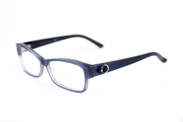 Gucci GG 3203 Gg3203 YHR Blue/sparkle Eyeglasses Frame Eyewear 53-13 ...