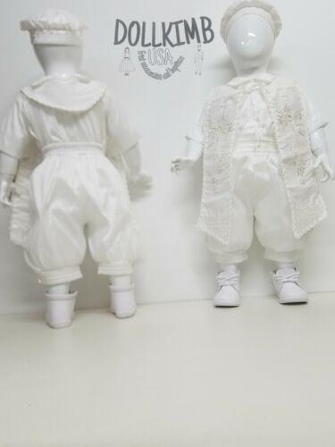 kid Ropones de niÑo para bautizo Blanco o beich Romper for baptism BOY white