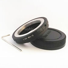 Adjustable Leica L39 M39 Lens To Micro 4/3 M43 M4/3 Camera Adapter GF3 EPL3 EP2