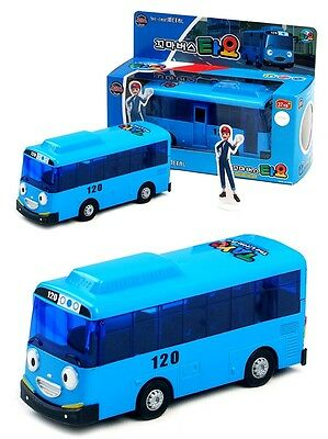 """TAYO The Little Bus DIECAST Metel Toy 5 """" TAYO Version Full Back Gear WHA63"""