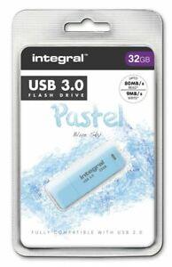 Integral-32GB-Blue-Sky-Pastel-USB-3-0-Flash-Drive-INFD32GBPASBLS3-0