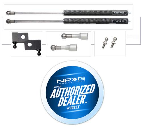 for Nissan 240SX 89-94 S13 Carbon Fiber Shocks NRG Hood Dampers