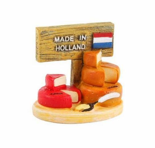 Käse Cheese Made in Holland Poly Fertig Modell Souvenir Niederlande