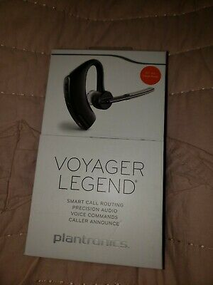 Plantronics Voyager Legend Black Ear Hook Headset New In Retail Box 17229141094 Ebay