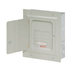 Small-Eaton-125-Amp-6-Space-12-Circuit-Wall-Indoor-Load-Breaker-Electrical-Panel