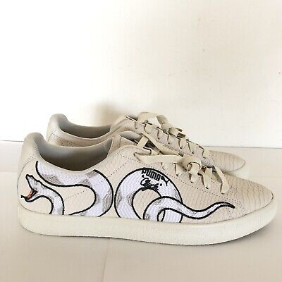 PUMA Clyde Snake Embroidery Shoes 36811101 Basketball Mens Shoes Size 11.5 USA | eBay