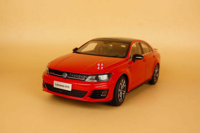 1 18 seguidores VW VOLKSWAGEN lamando GTS modelo de Coloreee rosso + Regalo