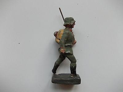 PüNktlich Schusso :marschierender Soldat Mit Marschgepäck (gk60)