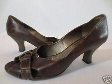 Trend Peep Toe Pumps GÖRTZ Shoes 39 Leder braun /Z30