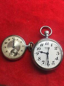 Pocket Watches Seiko and Empire in one LOT in good condition