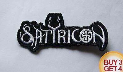 SATYRICON WT PATCH BUY3GET4,DARKTHRONE,IMMORTAL,GORGOROTH,ULVER,TAAKE,1349,SODOM