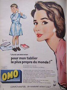 J Breweriana, Beer Publicité Advertising 1957 La Lessive Omo Other Breweriana