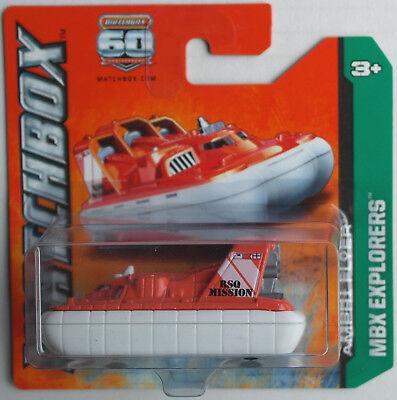 Modellbau Matchbox Amphi Flyer Luftkissenboot Orange/weiß Neu/ovp Mattel Mbx Hovercraft Festsetzung Der Preise Nach ProduktqualitäT Auto- & Verkehrsmodelle