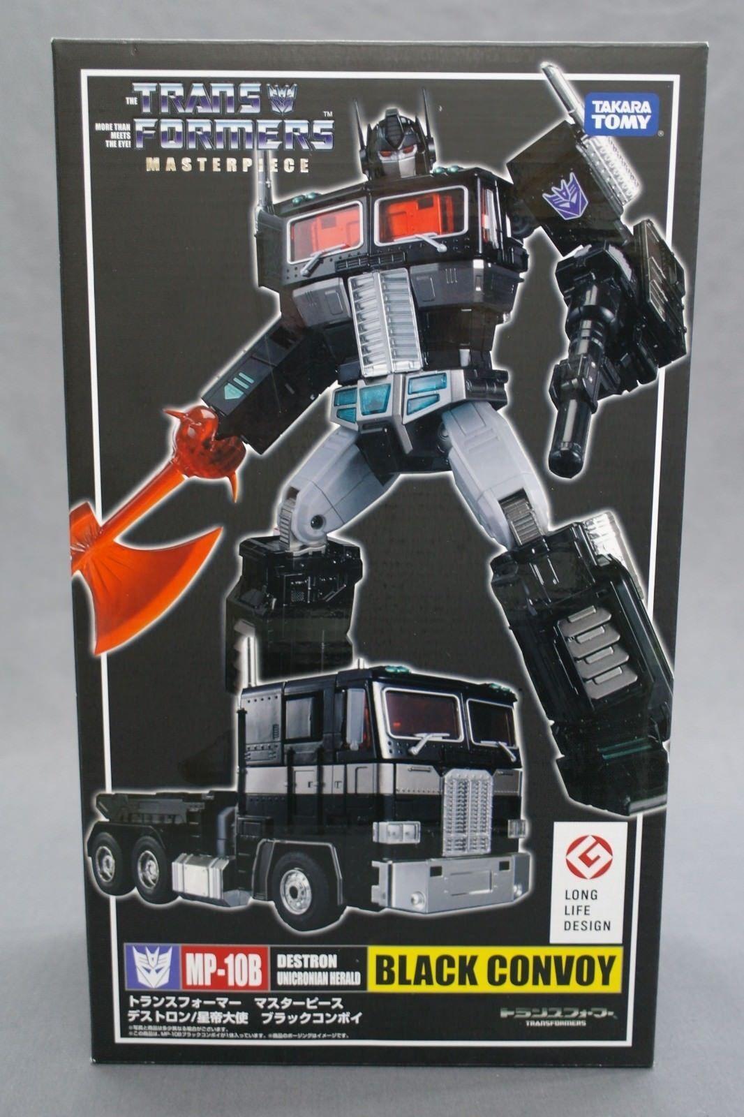 Transformers Masterpiece (MP-10B) Negro Convoy Takara Tomy NEW