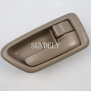 For Toyota Camry 1998 Tan Color Front Or Rear Right Passenger Inside Door Handle Ebay