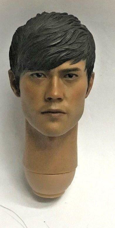 1 6 HOT TOYS GI JOE Storm Shadow 12  Lee Byung-hun HEAD SCULPT