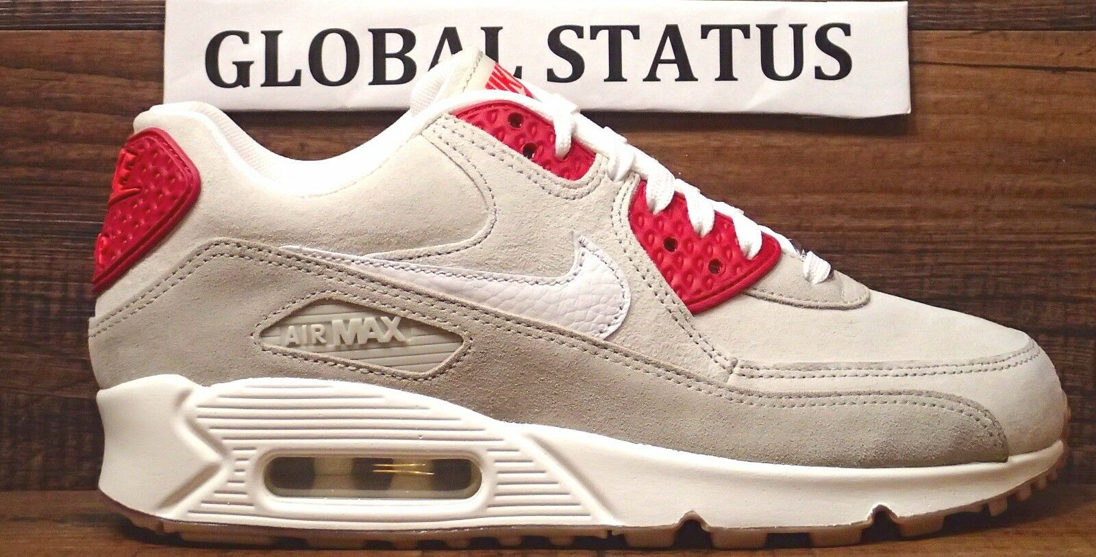 WOMENS NIKE AIR MAX 90 CITY DESSERT PACK NY CHEESECAKE SHOES 813150 200 SIZE  9