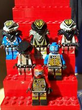 RARE Lego Lot - Complete Set of 6 Vintage UFO Space Minifigures -  Accurate