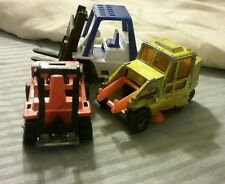Mini Matchbox Lesney England Street Sweeper 3 P. Vintage Set Diecast Cars #123