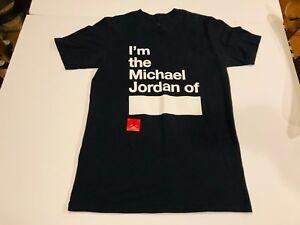 83f992cb NIKE Rare Vintage I'M THE MICHAEL JORDAN OF Black Jumpman Shirt ...