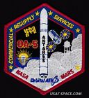 NEW-OA-5 Cygnus Mission ORBITAL ATK-ISS COMMERCIAL RESUPPLY NASA RD-181 PATCH