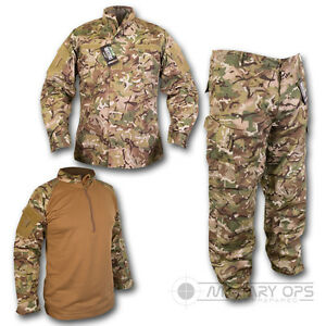 Btp-britanico-Terrain-patron-conjunto-uniforme-Camisa-Ubacs-Pantalones-Mtp-Multicam