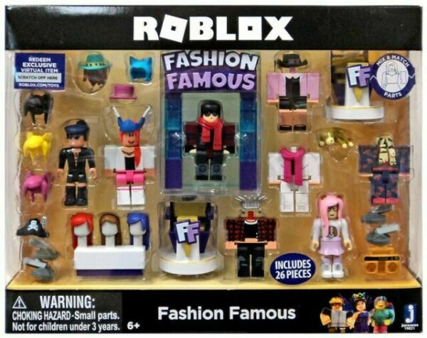 Roblox Celebrity Fashion Famous Large Playset 4 Iconic Figures And