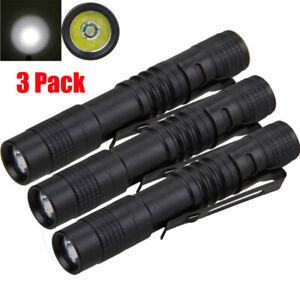 XPE-R3 LED 500 Lumens Lamp Mini AAA Penlight Flashlight Torch Pocket Light