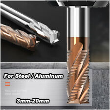 Corn Milling Cutter Solid Hrc 55 End Mill With Nano Coating For Milling Machine