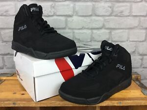 FILA-MENS-UK-7-EU-41-BLACK-IMMORTALITY-HI-TOP-TRAINERS