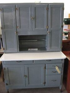 Image Is Loading NAPANEE DUTCH KITCHENET ANTIQUE RESTORED ORIG GRAY ALKYD
