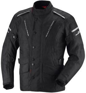 Ixs-Trago-Hommes-Blouson-Moto-Noir-Rouge-Blanc-Bleu-Impermeable-Touring