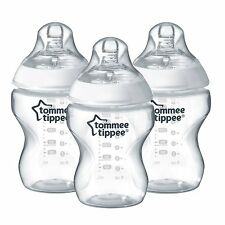 Tommee Tippee Closer to Nature 9oz Bottles - 3 pieces in 1 Box