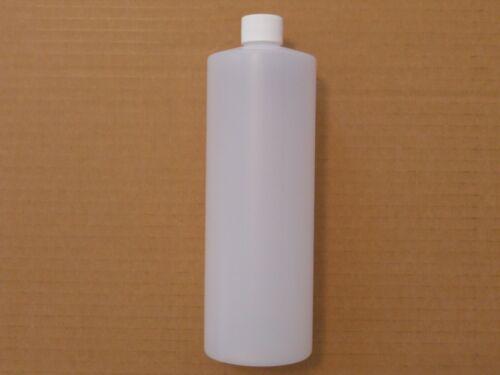 1//EA 32oz Empty HDPE Plastic Bottle Oil Vinegar Salad Dressing Storage Container