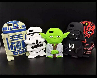 Phone Case Cartoon Silicone Hero Star Wars Back Case Cover For Iphone5 5s 6 Plus
