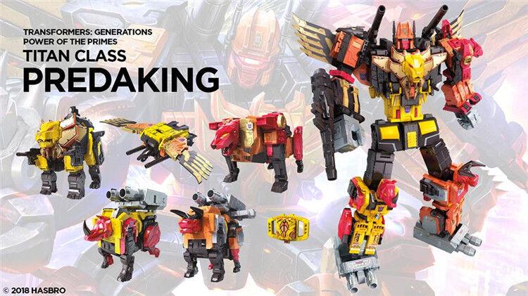Nouveau Hasbro Transformateurs De Puissance des primes POTP Titan prougeacon ProugeAKING sans boîte