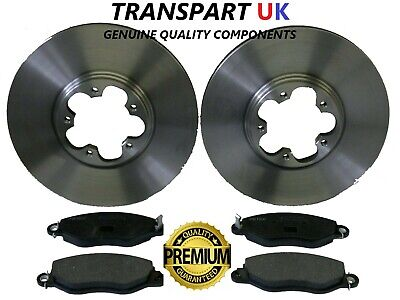 Transit Parts Transit 2.0 MK6 Front Brake Discs And Pads 260 280 300 Full Set FWD 00-06