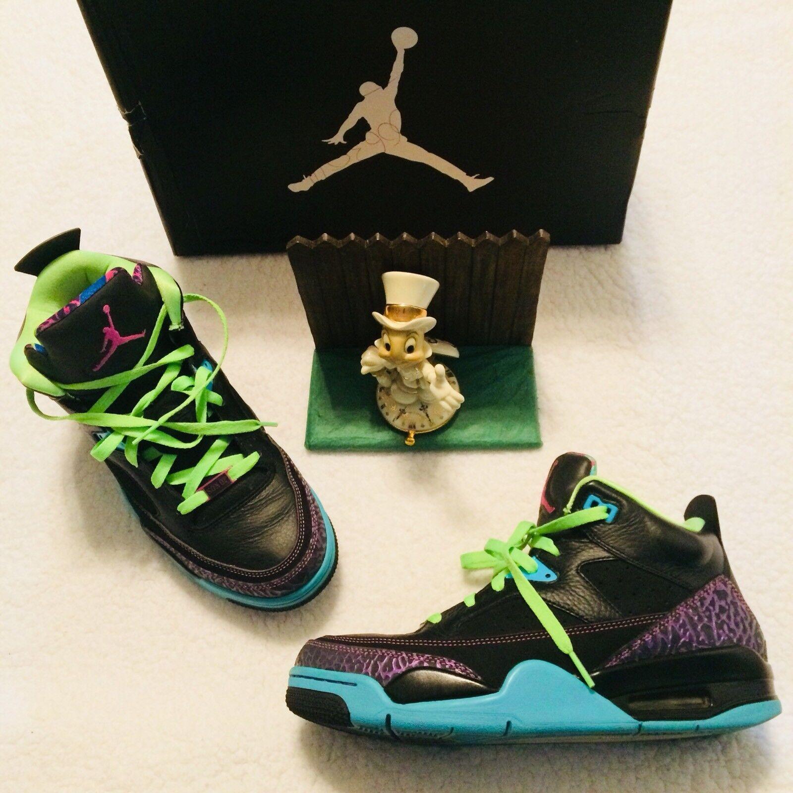 Nike Air Jordan Son Of Low 9   42.5 Black Purple Bel Air 580603 019 WORN ONCE