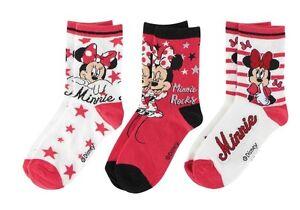 3er-Pack-Disney-Minnie-Mouse-Soeckchen-Socken-Struempfe-Gr-23-38-NEU-und-OVP