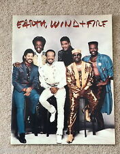 """ EARTH - WIND & FIRE ""  TOUCH THE WORLD TOUR, 1988 PROGRAMME."