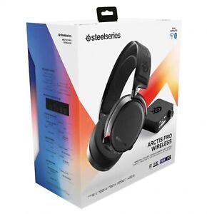 SteelSeries Arctis Pro Over the Ear Wireless Headset - Black