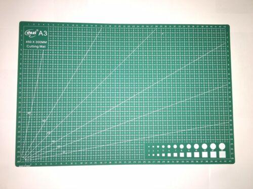 A4 Board Self Healing Non Slip Craft Printed Grid Durable A99 Cutting Mat A3