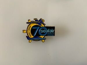Details about 2019 SEAFAIR SEATTLE HYDROPLANE SKIPPER PIN HYDRO RACE BUTTON