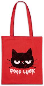 5e83e364587e6 Das Bild wird geladen Cat-Good-Luck-Stofftasche -Einkaufstasche-cats-cat-Love-