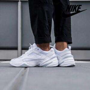 Details about Nike M2K Tekno Sneakers Triple White/Platinum AV4789-101  Men's Shoes SZ 12 - 13