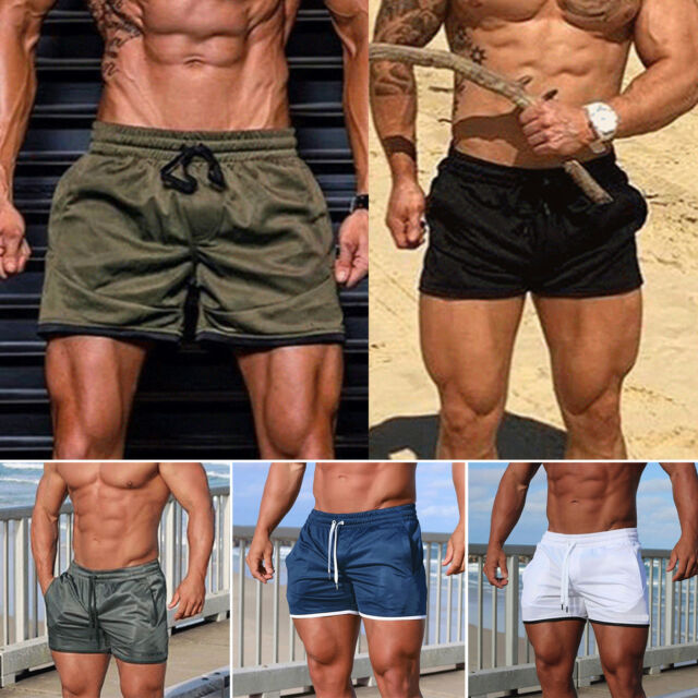 Men Beach Swimming Casual Sport Shorts Trunks Exercise Training Gym Summer Pants