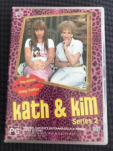 Kath-amp-Kim-Series-2-DVD-2-Discs-2003-Region-4-Jane-Turner-Gina-Riley