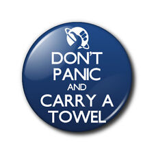 Magneclix magnetic interchangeable design-Don't Panic and Carry a Towel - HHGTTG